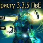 Гайд по ДЦ Присту 3.3.5 ПвЕ