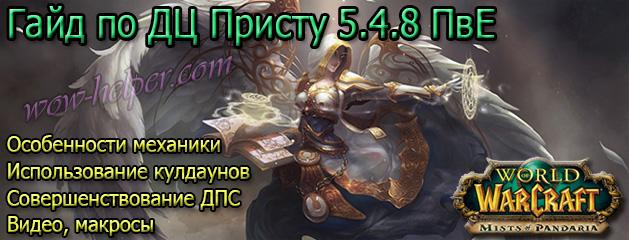 Гайд по ДЦ Присту 5.4.8 ПвЕ